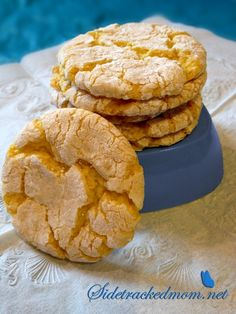Triple Threat Eggless Lemon Cookies Recipe