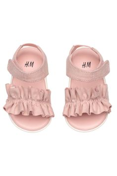 Baby Girls Boys Embroidered Fleecy Baby Booties Slippers Stars Pink 6-9 Months