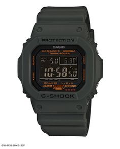 Casio G-Shock – Solar Military Green Collection