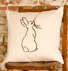 Image result for rabbit cushions