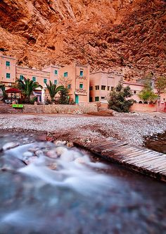 Morocco - Todra Gorge: Life in a Gorge by John & Tina Reid, via Flickr