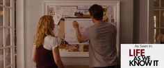The 2010 romantic comedy, Life As We Know It, starred an AT-A-GLANCE desk calendar along side of Katherine Heigl and Josh Duhamel.