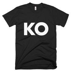 Knock Out MMA T-Shirt_Black_MMALoaded.com