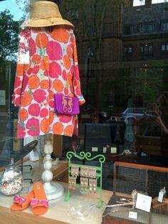 "Our ""Jewel Box"" Window Has A Vast Array Of Summer Merchandise!"