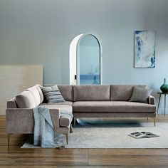 Andes L-Shaped Sectional - Metal