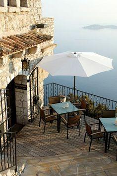 Château Eza Hotel, Eze, Côte d'Azur, France.