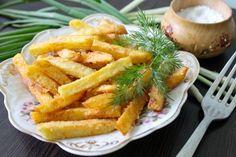 Картошка фри - Рецепты картошки фри - Как правильно готовить картошку