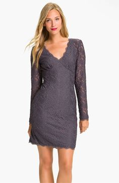 Adrianna Papell Lace Overlay Sheath Dress available at #Nordstrom