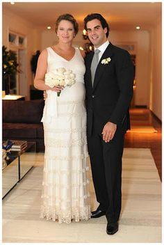Retrô - Casamento de famosos 2011. Letícia Birkheuer e Alexandre Furmanovich