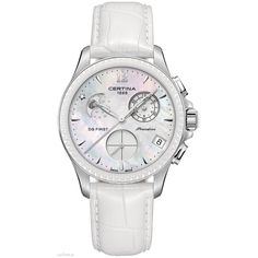Certina DS First Lady Keramik Chrono Mondphase Chronograph for women Classic Stylish Watches For Girls, Luxury Watches For Men, Oversized Watches, Breitling Watches, First Ladies, Cool Watches, Unique Watches, Lady, Chronograph