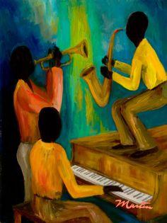 Little Jazz Trio by Larry Martin
