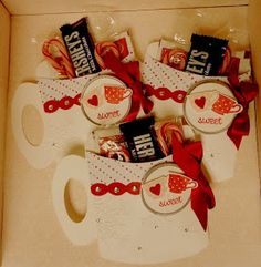 Stampin' & Scrappin' with Stasia: Holiday Gift Hot Chocolate Mugs and Tags for Friends