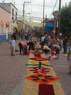 Jueves de Corpus - Pueblo Moya en Lagos de Moreno