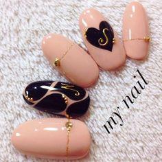 ハンド/ハート/ピンク - in 2019 Diy Nails, Cute Nails, Pretty Nails, Fabulous Nails, Gorgeous Nails, Asian Nails, Kawaii Nails, Japanese Nail Art, Manicure E Pedicure