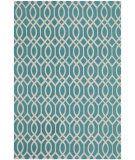 RugStudio presents Safavieh Cedar Brook Cdr141e Light Teal / Ivory Woven Area Rug