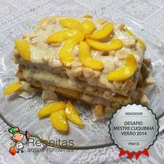 Receitas sem gluten - essa torta levou prêmio aqui no site, divina! http://www.receitas-sem-fronteiras.com/receita-59497-torta-de-pessego.htm