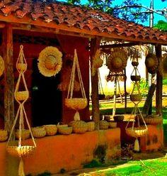 Venta artesanía Rio Caribe. Edo. Sucre,Venezuela.