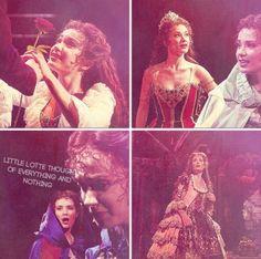 Christine (Sierra Boggess) and Raoul (Hadley Fraser)
