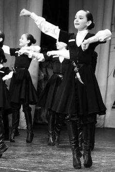 Lezginka dancers