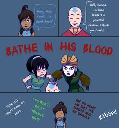 Toph and Kyoshi would get along quite well