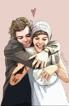 Find images and videos about one direction, louis tomlinson and Harry Styles on We Heart It - the app to get lost in what you love. Larry Stylinson, Wattpad, Niall Horan, Zayn Malik, Arte One Direction, Liam Payne, Desenhos One Direction, Mike Singer, Larry Shippers