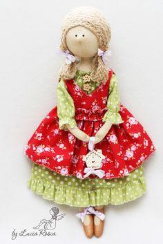 Чудесные интерьерные куклы Lucia Rosca . Обсуждение на LiveInternet - Российский Сервис Онлайн-Дневников