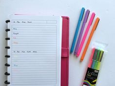Planner pens I don't recommend (prone to smearing, bleed through etc.) - All About Planners Le Pen, Planners, Pens, Coding, Planner Ideas, Journaling, Color, Random Stuff, Colour