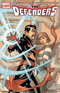 Defenders #4 What is the Concordance Engine? Why does a young-gun magician have Dr. Strange in his sights?