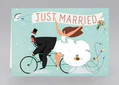 Just in! Adam Avery's final Just Married artwork