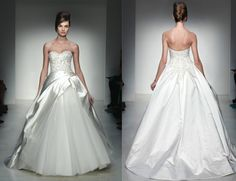 Kenneth Pool Bridal - Elena Gown - Stunning and dramatic wedding gown!