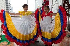 Traditional dance of Columbia