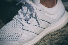 Adidas Primeknit Ultra Boost Footwear White (blanc) (4)