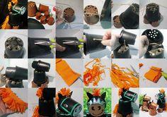 Pomysły plastyczne dla każdego, DiY - Joanna Wajdenfeld: Jak zrobić koniki z doniczek