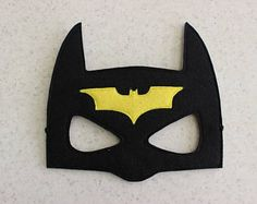 Batman felt mask - Kids dress up - Children superhero mask - Party favor - Christmas party costume - Pretend play