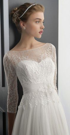 Cheap 2015 Hot Bridal Wraps Jackets Scoop Sheer Lace Applique Shawl Coats 3/4 Long Sleeve Bridal Accessories White Ivory For Wedding Dress Online with $53.41/Piece on Huifangzou's Store | DHgate.com