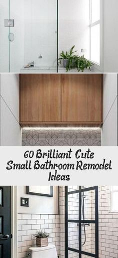 Small Bathroom Remodel Ideas - Determine how much you are able to afford to spend on your remodel to establish the degree of the changes you may make.... #tinybathroomPlans #tinybathroomShower #tinybathroomNarrow #MiniToilettinybathroom #tinybathroomDIY