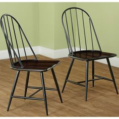 Simple Living Milo Mixed Media Dining Chairs (Set of 2) - Overstock™ Shopping - Great Deals on Simple Living Dining Chairs