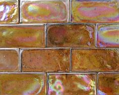 Glass Mosaic tiles! Essential for the perfect kitchen back splash!