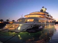 World's Top 10 Most Expensive Luxury Yachts -  Ownership of a luxury yacht is synonymous of unrivaled wealth, a status symbol and floating extravagance that only the world's richest can possibly afford.