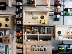 Lomography Gallery Store Antwerp: for the analogue photographer @ Kammenstraat 55