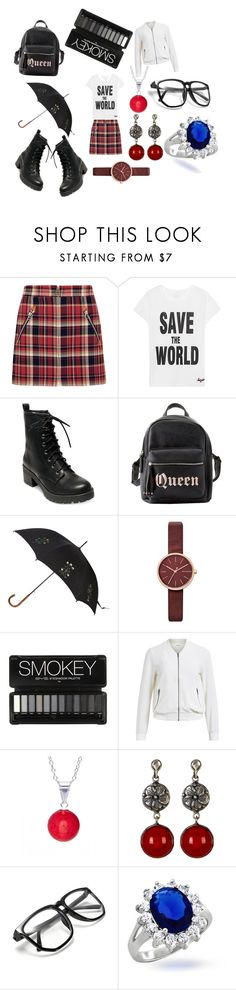"""Ghetta tricolora"" by racheldenisnefeke ❤ liked on Polyvore featuring rag & bone, Jadicted, Madden Girl, Charlotte Russe, Alexander McQueen, Skagen, Object Collectors Item, Pori, Exex Design and Bling Jewelry"
