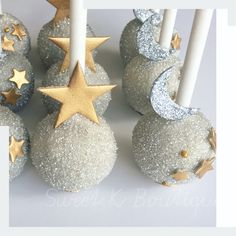 Twinkle twinkle little star cakepop.