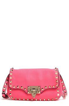 Women's Valentino 'Small Rockstud' Flap Bag