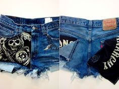 SONS OF ANARCHY x LEVI CUT OFFS Yes please!!!!!