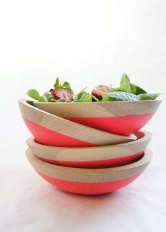 Bol à salade Fluo