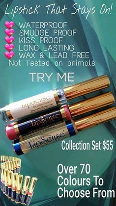 Get a kit to Lipsense to finalize your entire look. Pick a color and it comes with glossy gloss and the oops remover oil. #makeup #cometics #beauty #makeuplovers #lipsense