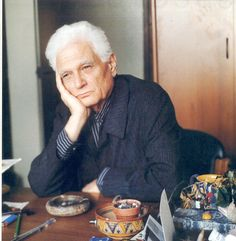 Philosophers at their desk: Jacques Derrida Jaques Derrida, Continental Philosophy, Einstein, Martin Heidegger, The Secret History, Portraits, Deconstruction, Sociology, What Is Like
