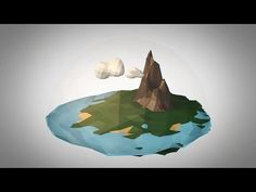 Low Poly World - Cinema 4D Tutorial (Part 1) - YouTube