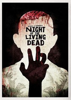 Horror Films, Horror Art, Movie Covers, Book Covers, George Romero, Zombie Art, Alternative Movie Posters, Movie Poster Art, Scary Movies