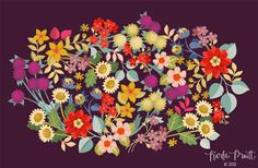 Fall floral by Karla Pruitt